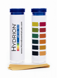 pH indicator paper (strips)