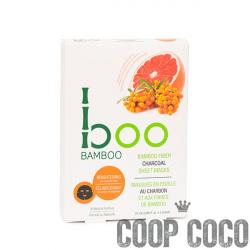 Masques en feuille au charbon et aux fibres de bambou