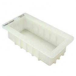 Moule à savon rectangulaire en silicone format pain