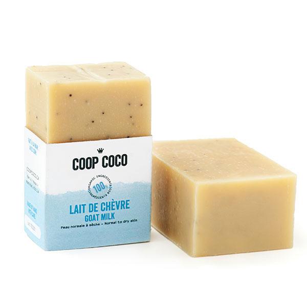 lait de ch vre savon exfoliant coop coco. Black Bedroom Furniture Sets. Home Design Ideas
