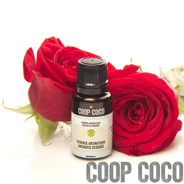 rose bulgare essence aromatique bio coop coco. Black Bedroom Furniture Sets. Home Design Ideas