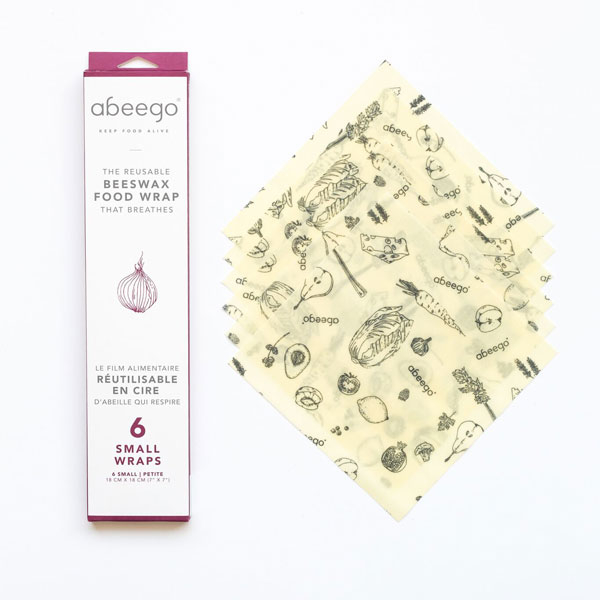 Beeswax Food wraps, Abeego, Small, 6 | Coop Coco
