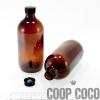 Bottle, amber glass, 500ml